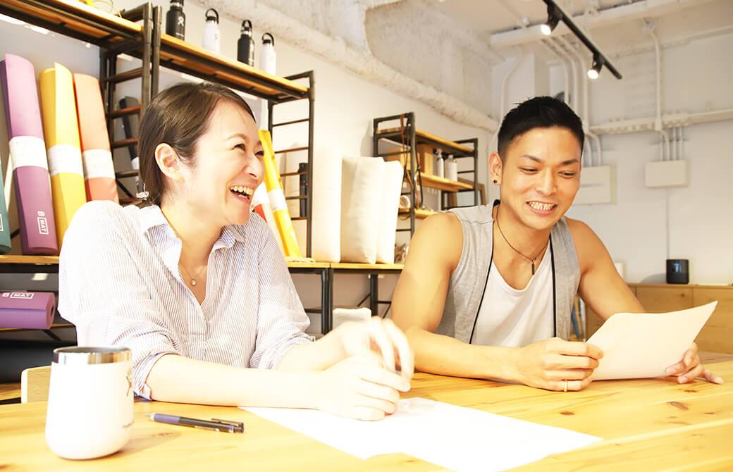 アスリートには、ヨガを通じて「自分自身が得意なこと、不得意なこと」を見つめ直してほしいと語る、川満先生