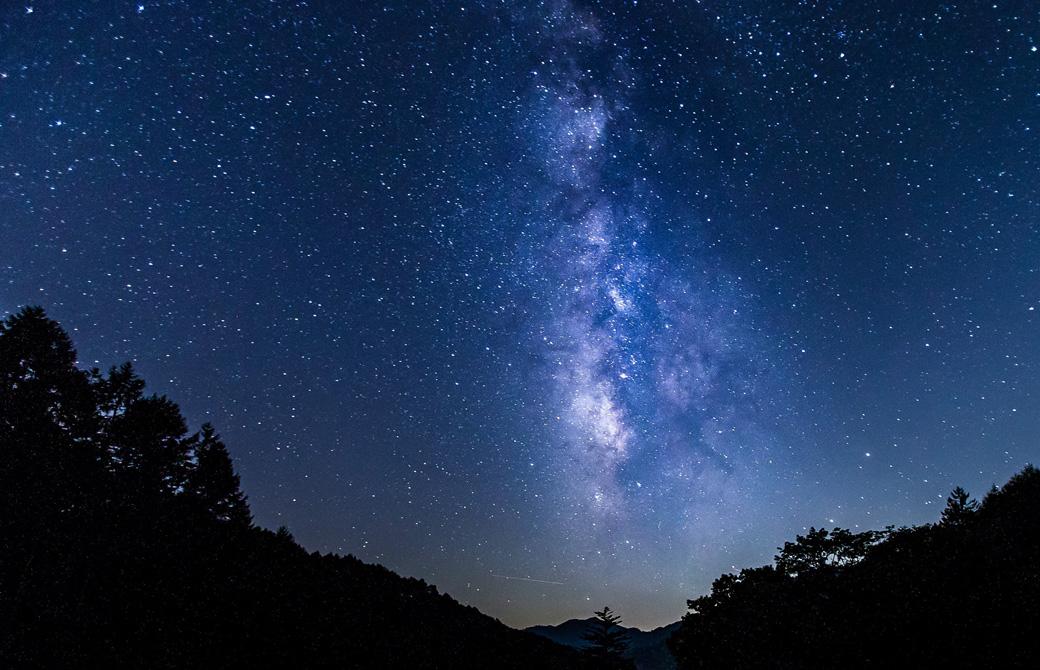 長野県阿智村の日本一の星空