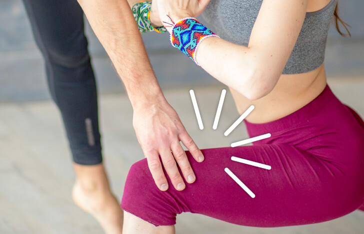 運動方向に対して、抵抗を加えることで意識を高める手法