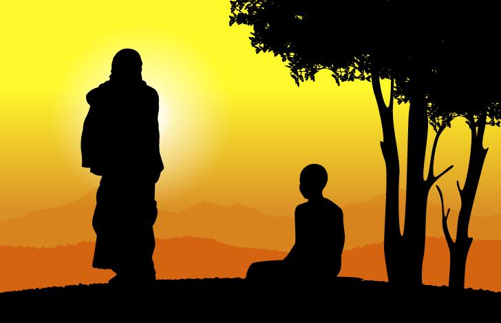 哲学者である父と僧侶である息子の厳しくも愛に満ちた対談が書籍化された『僧侶と哲学者』という本に出逢い精神科医になる決意をした筆者