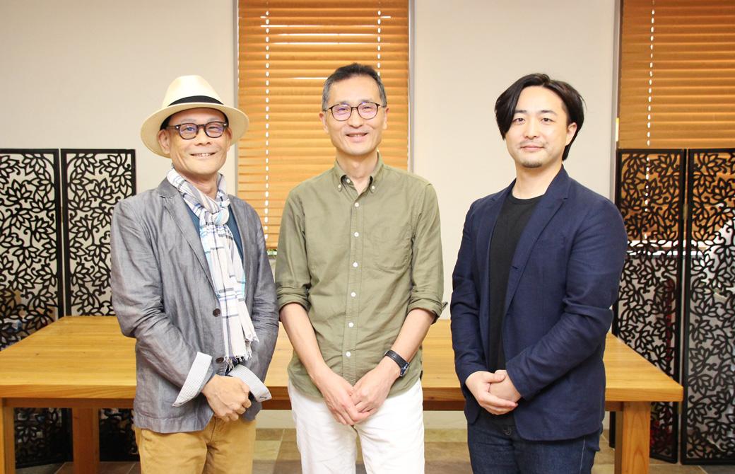 医道の日本2019年9月号座談会写真(三浦敏郎・石垣英俊・内田かつのり)