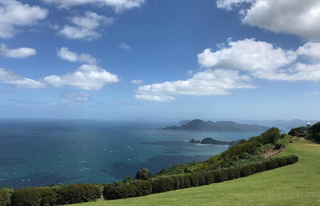 雄大な景色を眺めて「無心」になる経験をした、山口県北長門海岸地域