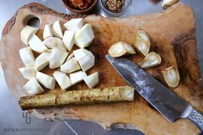 根菜類の下処理