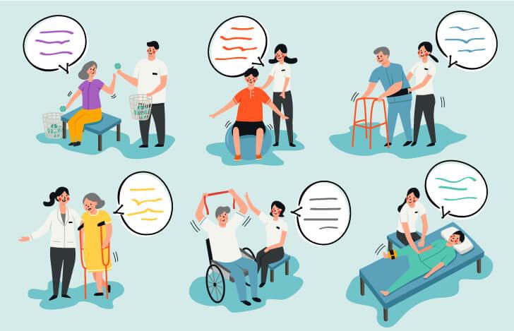患者様との信頼関係を築くためには会話でのコミュニケーションは不可欠