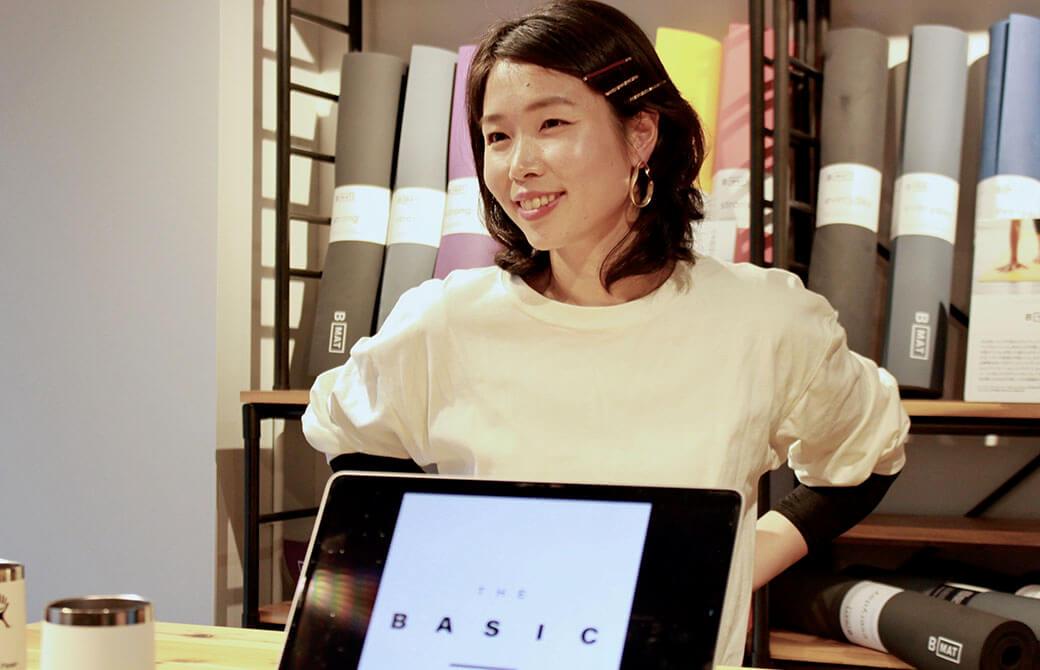 「THE BASIC」を考案した想いを語る佐久間涼子先生