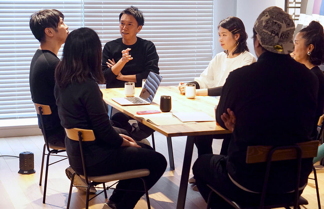 それぞれの想いが溢れ、どんどん白熱していくプロジェクト会議