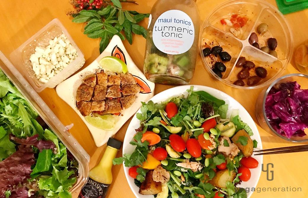 ゆるベジ:マウイ島での自炊な食卓