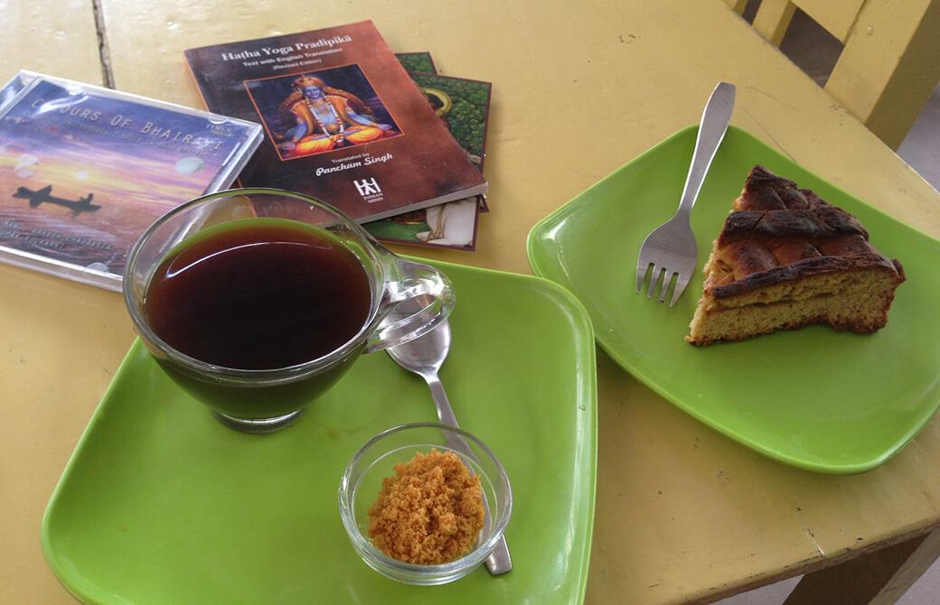インドのビーガンカフェ
