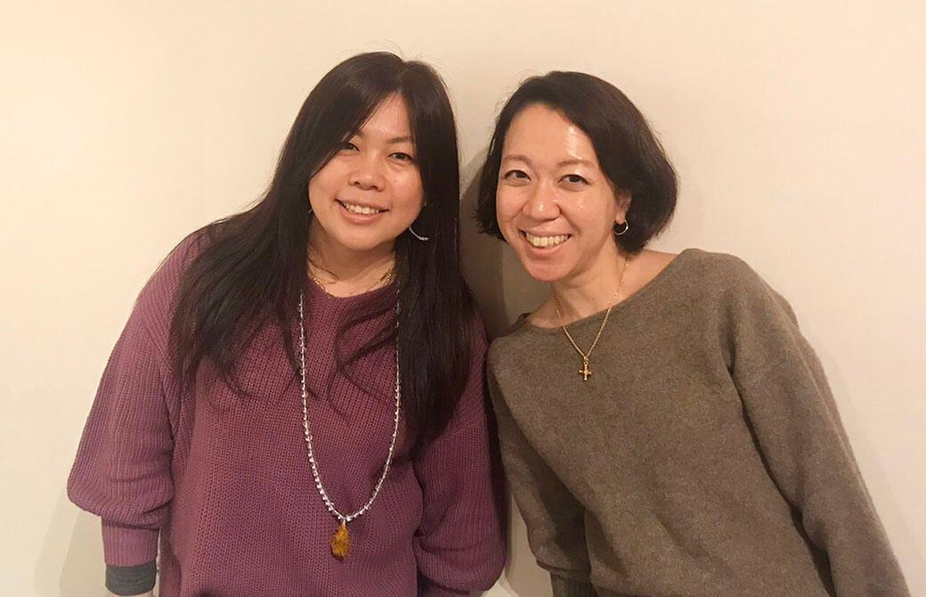 永井由香先生と『心を育む、読むヨガ』連載中の松島幸恵先生