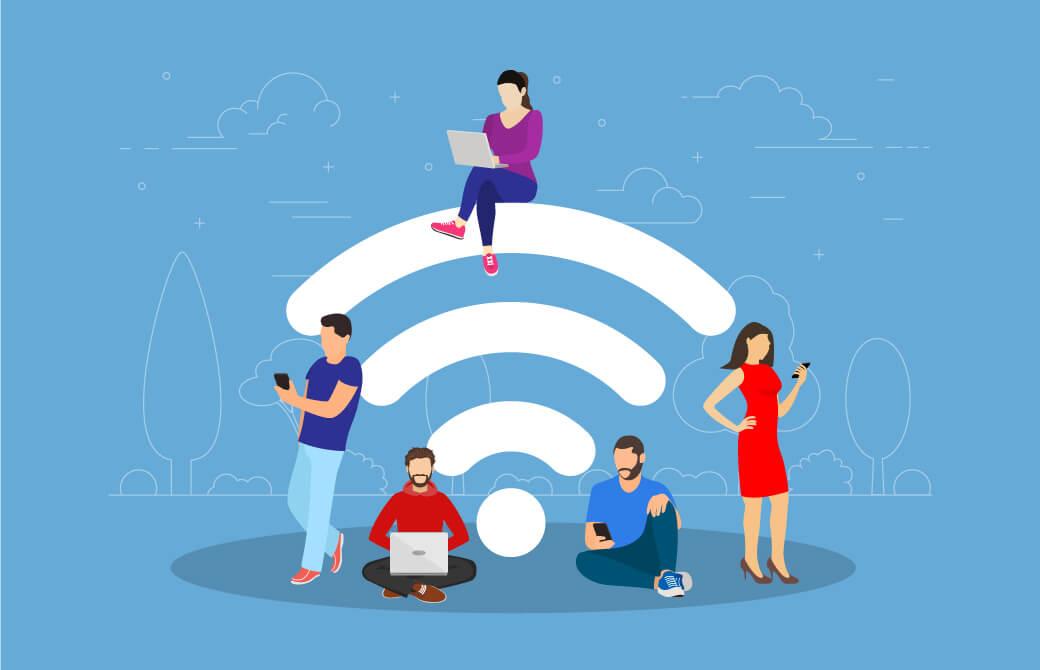 モバイル回線ではなく、Wi-Fiを活用しよう