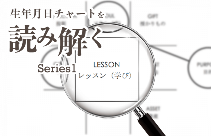 生年月日チャートを読み解くシリーズ1【レッスンナンバー編】