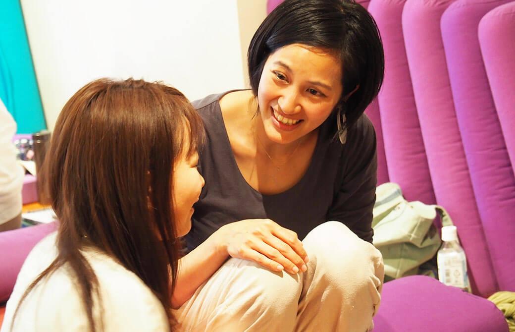生徒に親身に寄り添うサントーシマ香先生