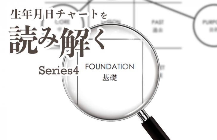 生年月日チャートを読み解くシリーズ4【ファンデーションナンバー編】