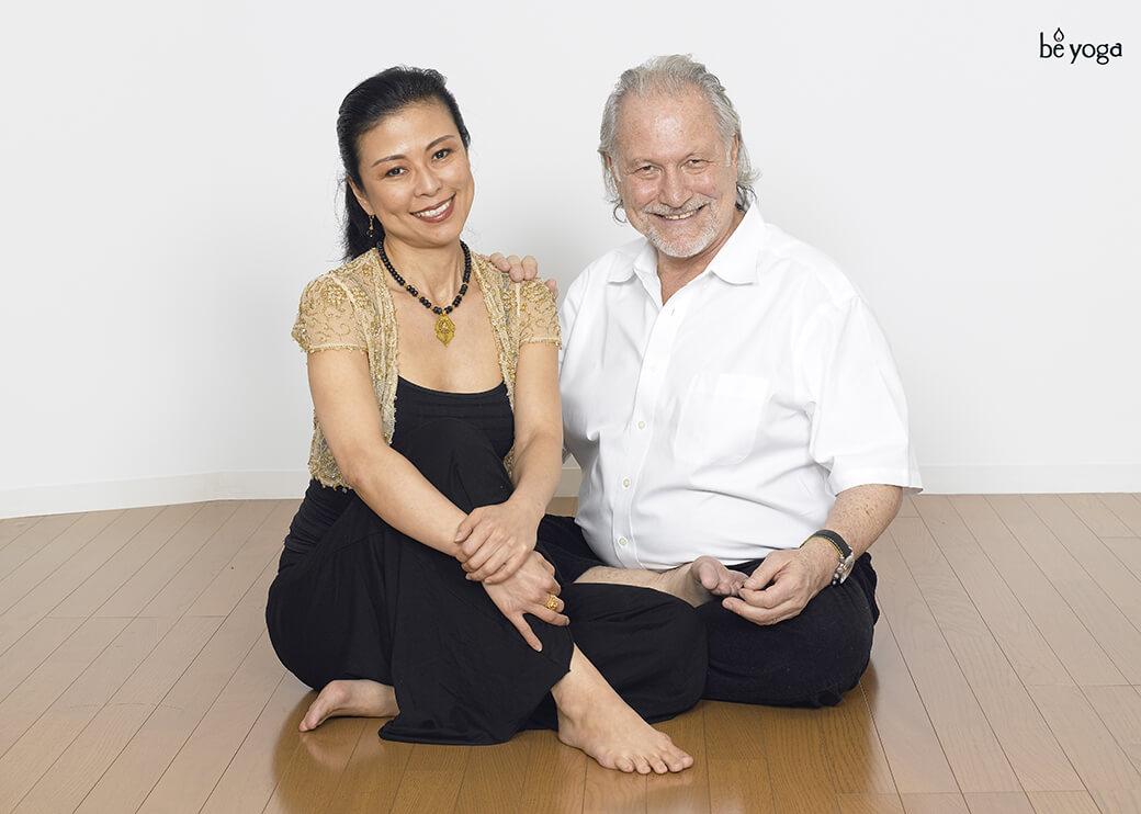 久美子先生の師匠でもある、イシュタヨガの創始者であるアラン先生