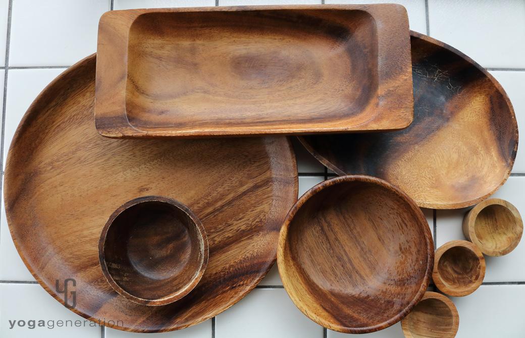 ゆるベジ:アカシアの皿たち