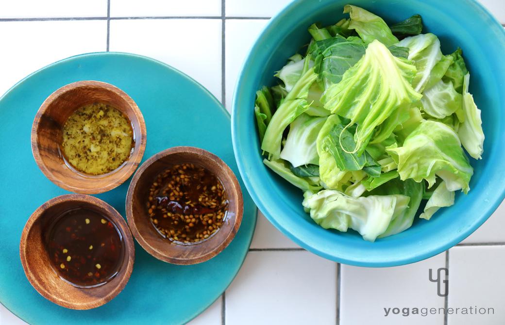 シンプル春キャベツもひと工夫で極上サラダ!3種のオイルレシピ