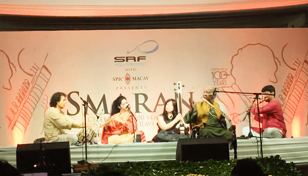 Ravi Shankar氏の生誕100年コンサート