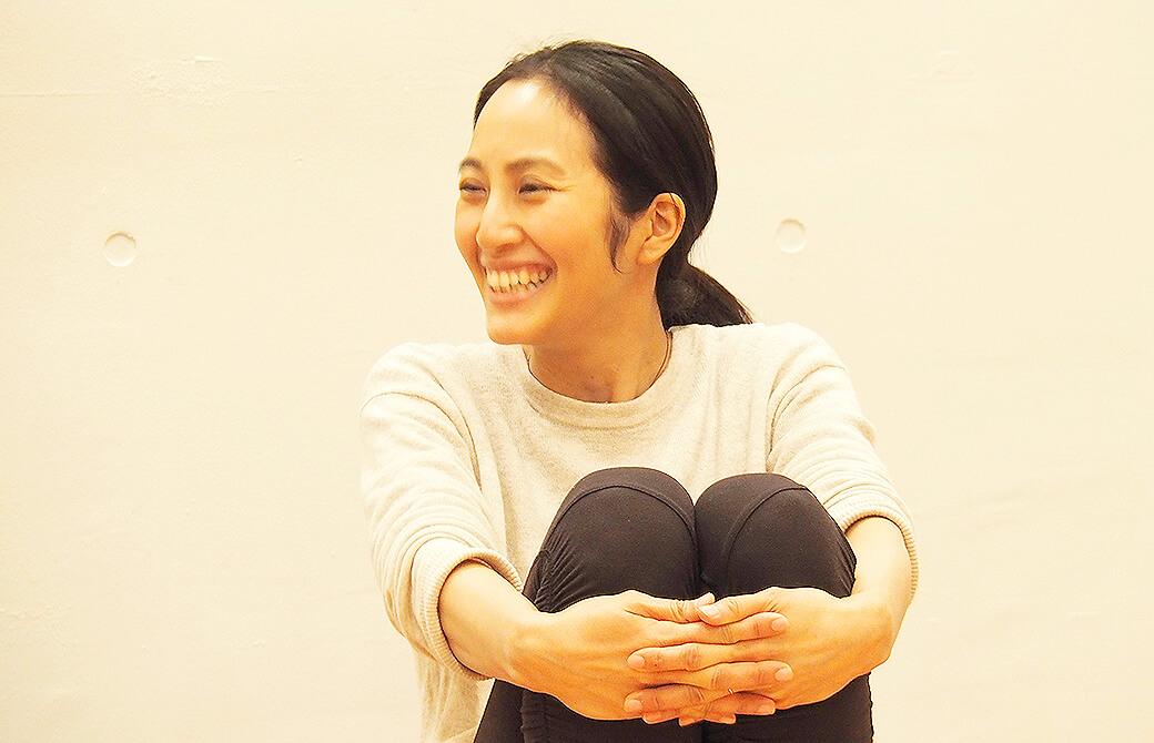 生徒さんのお話に笑顔が溢れるサントーシマ香先生