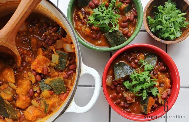 カボチャと小豆のメキシカンな『いとこ煮』