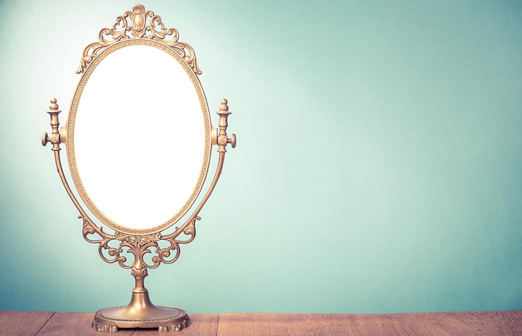 心は鏡のようなもの