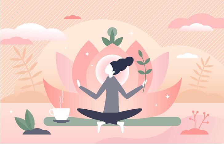 快適な生き方というのは、調和の取れたバランスの良い状態