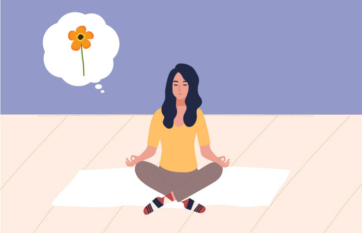 瞑想の最初の段階は、ダーラナ