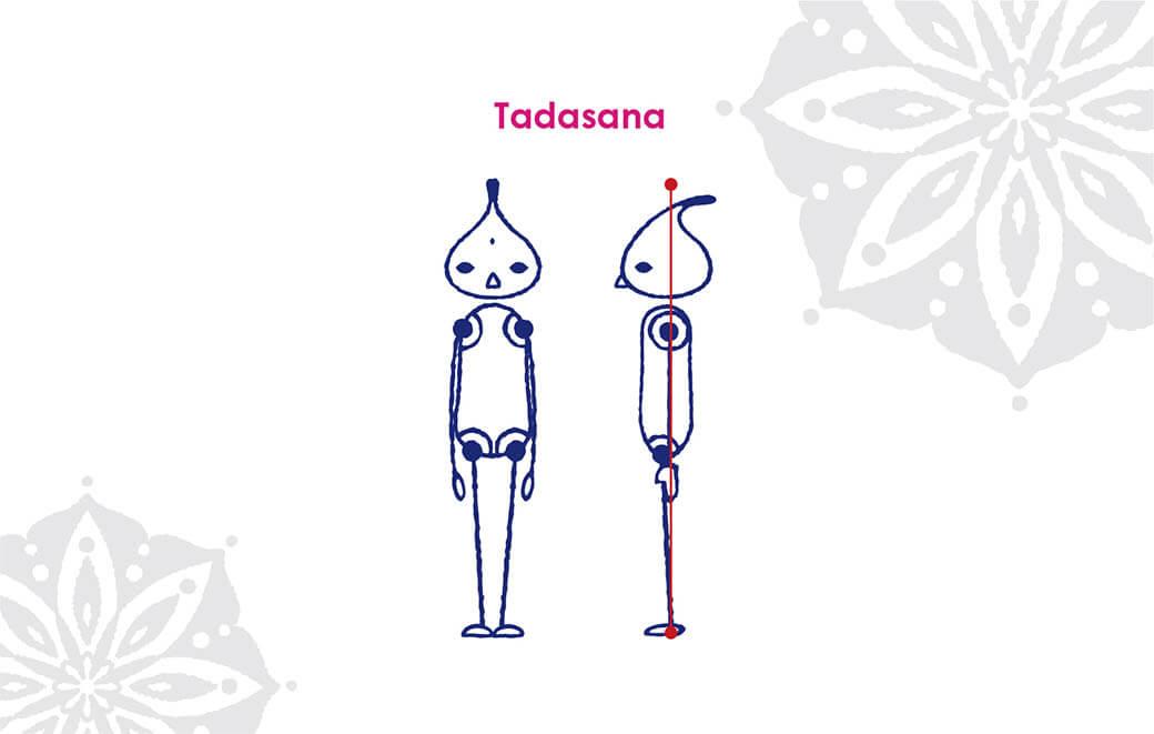 12月のおすすめアーサナは「タダーサナ」