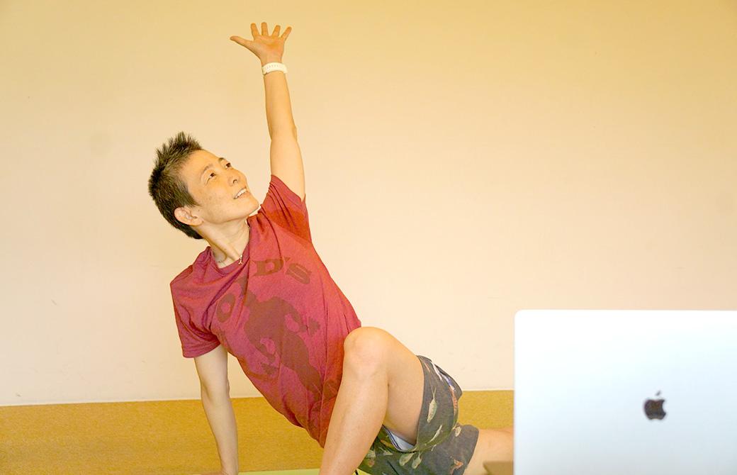 高尾美穂先生の骨盤底筋トレーニングヨガ