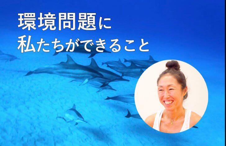 トリさんがハワイの海で撮影したイルカ