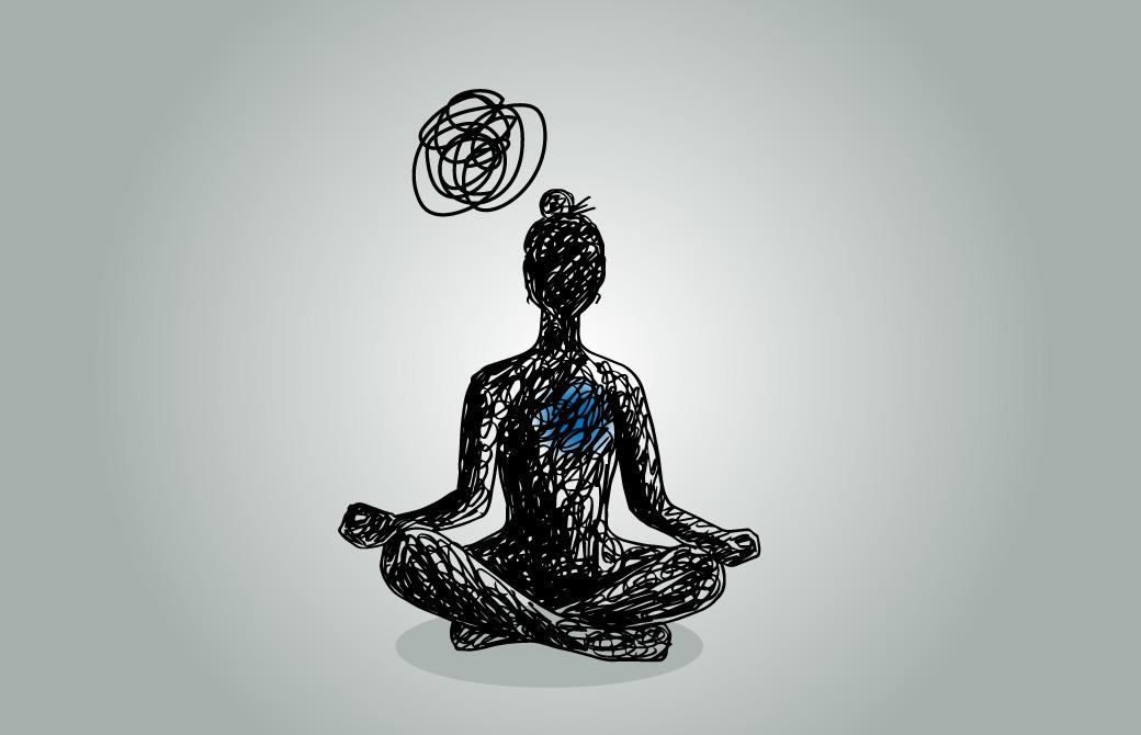 集中できない心は悪ではないが、ヨガにとっては障害