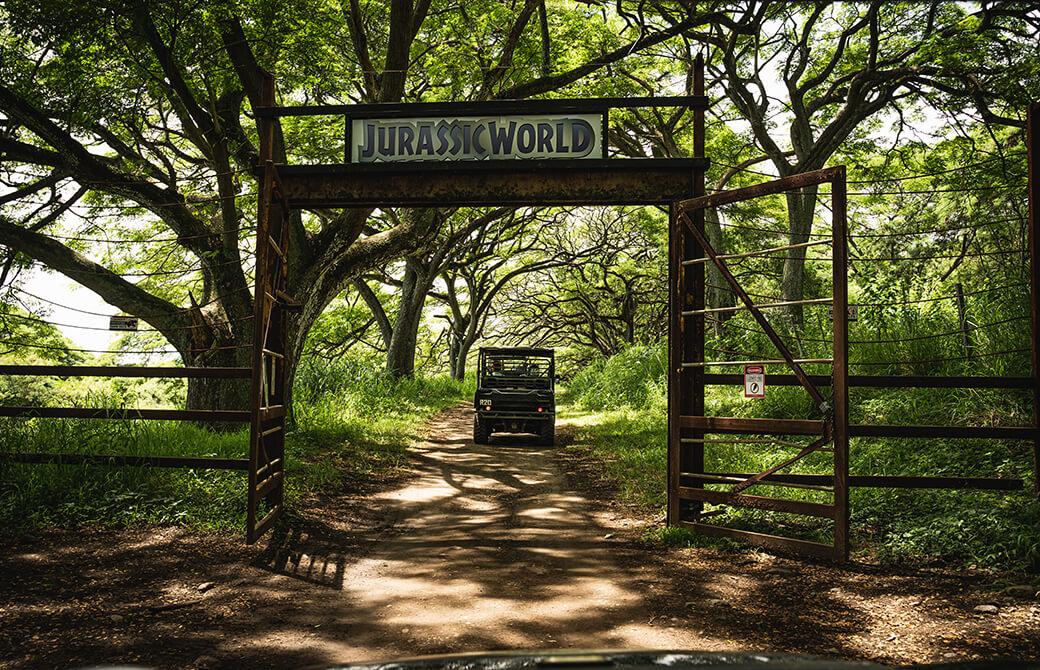 ハワイのオアフ島ジュラシックワールド