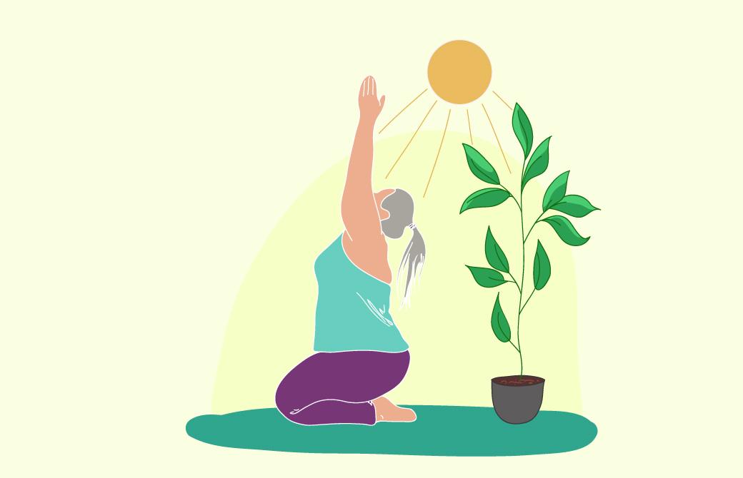 ヨガの実践で体内外のアグニを取り入れる