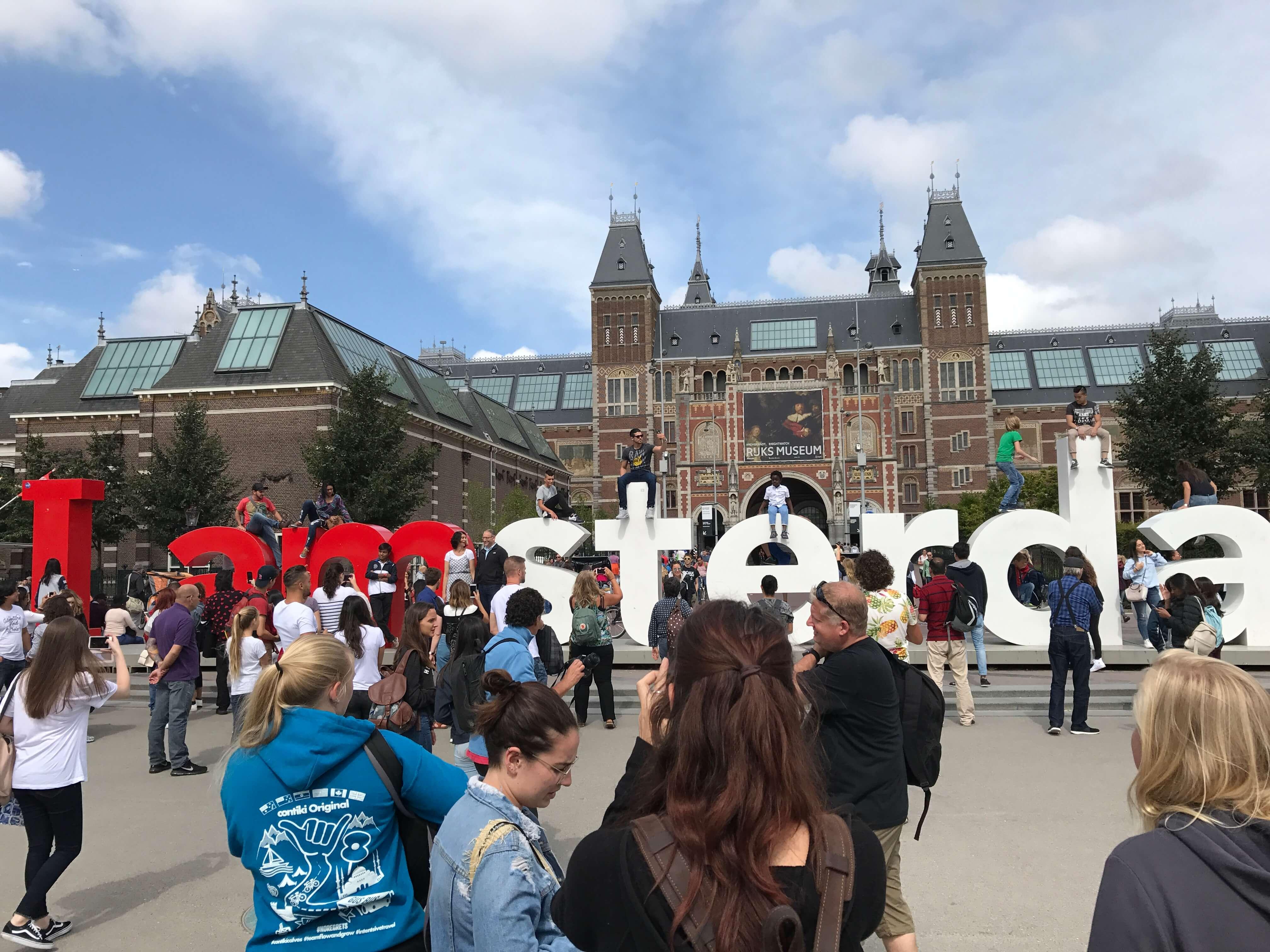 アムステルダム国立美術館前