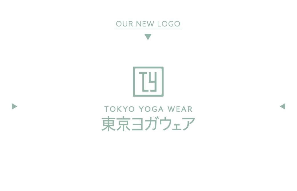 【東京ヨガウェア】新ロゴ