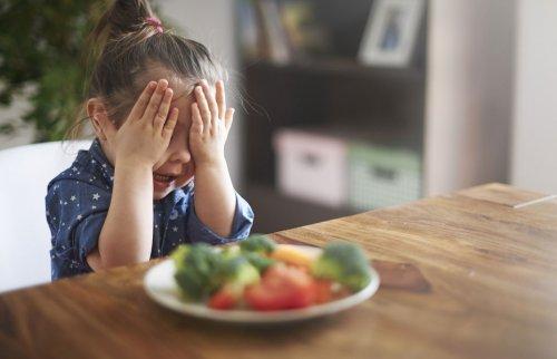 野菜が嫌いな女の子