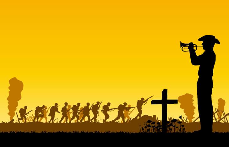 第一次世界大戦時の戦士たち
