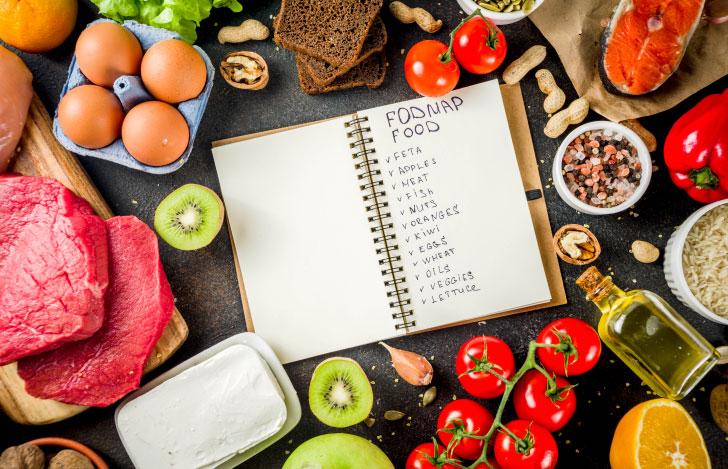 低FODMAP食とノート