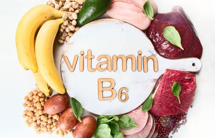 ビタミンB6を多く含む食品たち